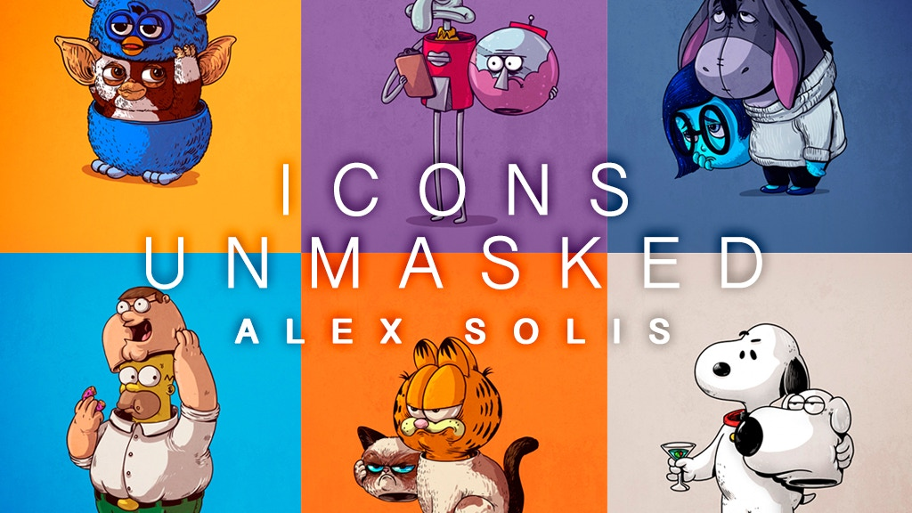 Icons Unmasked Book project video thumbnail
