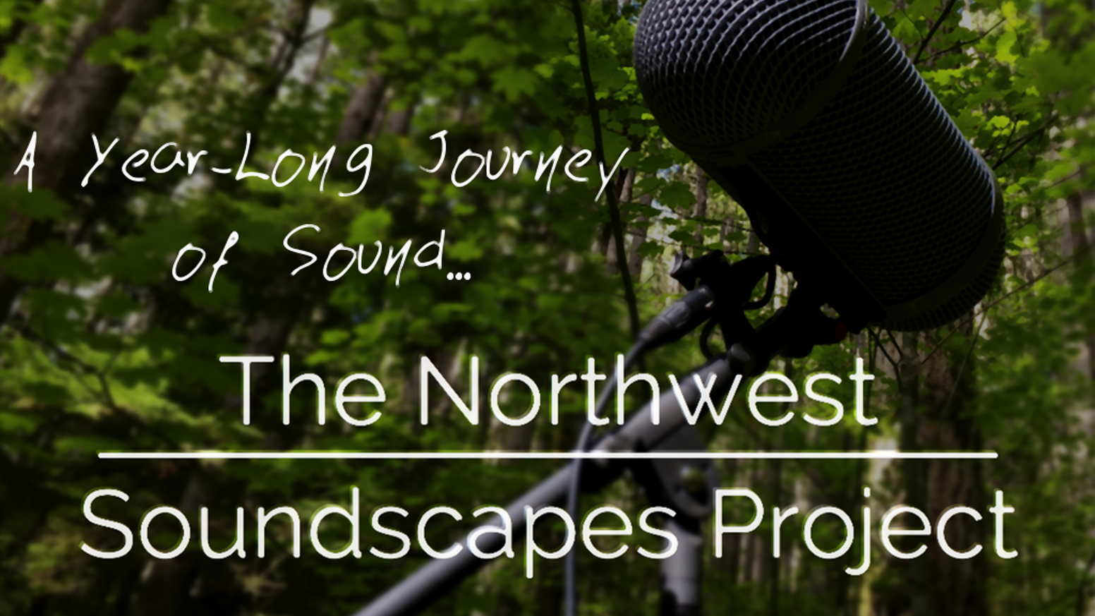 A one year journey to record and create a massive Pacific Northwest soundscape and impulse response library.