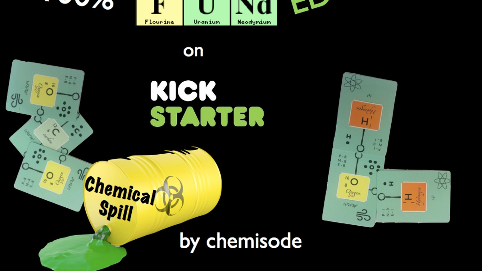 Chemical Spill by Chemisode: the chemistry card game by