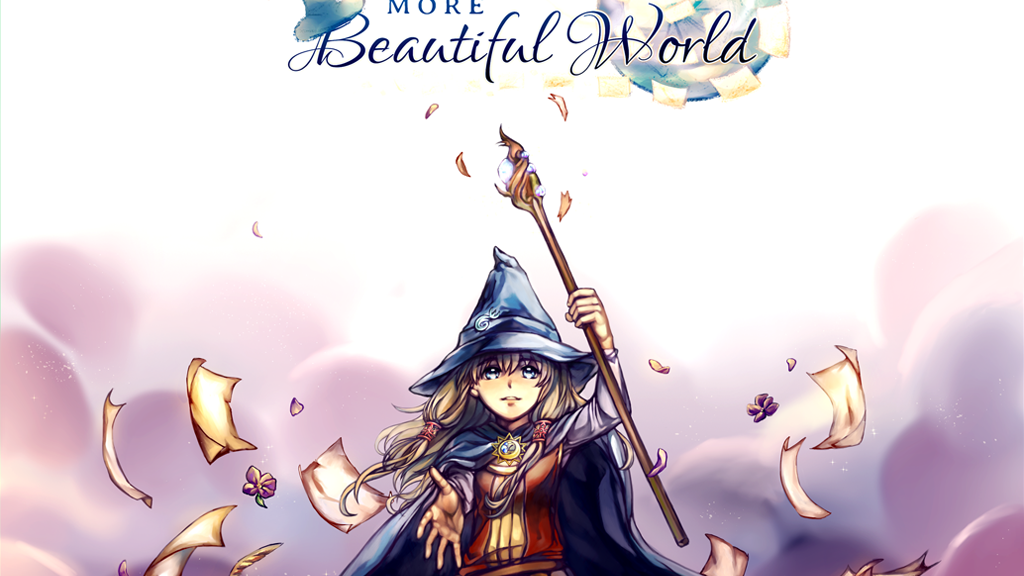 A More Beautiful World - A Visual Novel project video thumbnail