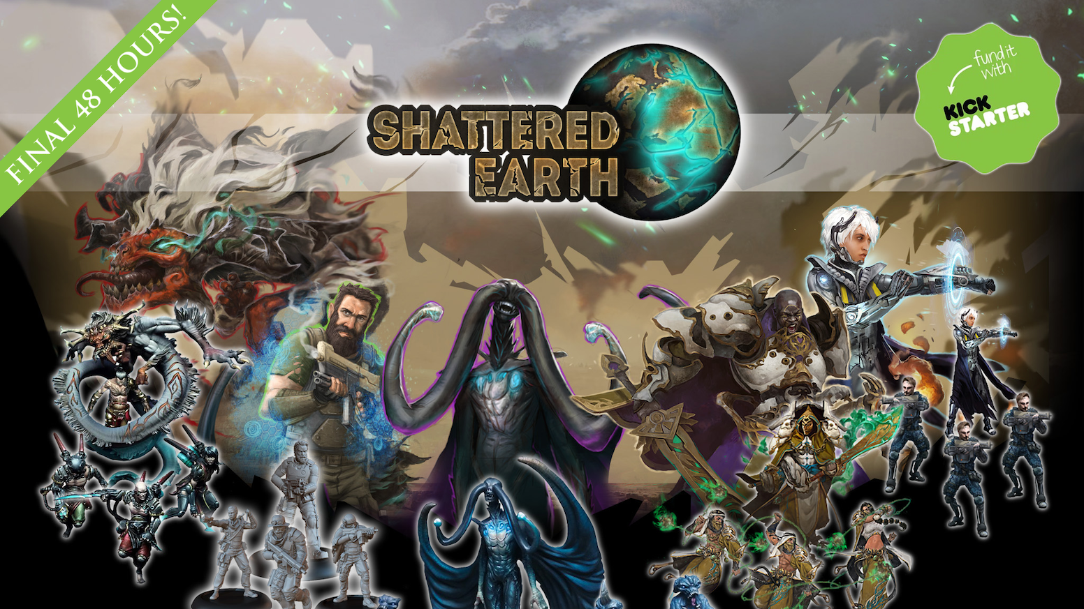 Shattered Earth: Emergence by Massive Awesome — Kickstarter