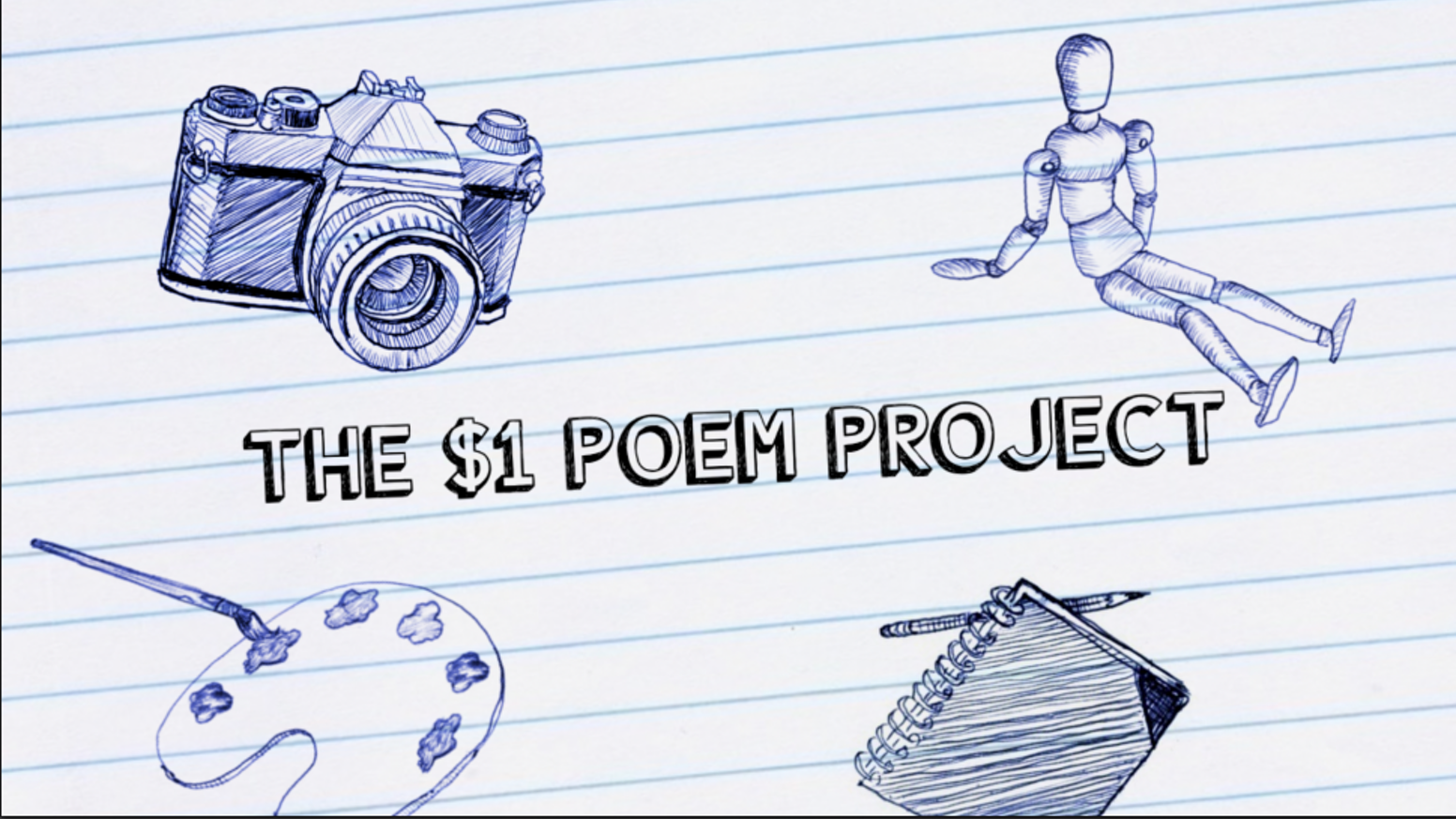 For $1, You choose the topic, I write the poem & mail it straight to You.