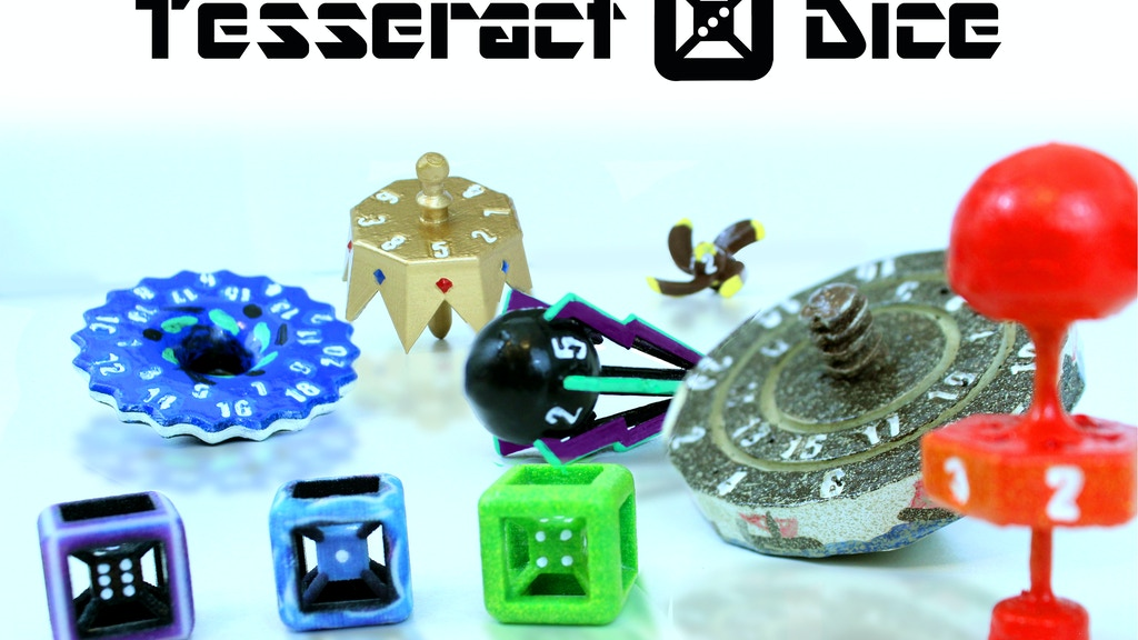 Tesseract Dice (D6 and polyhedral Science Dice) project video thumbnail