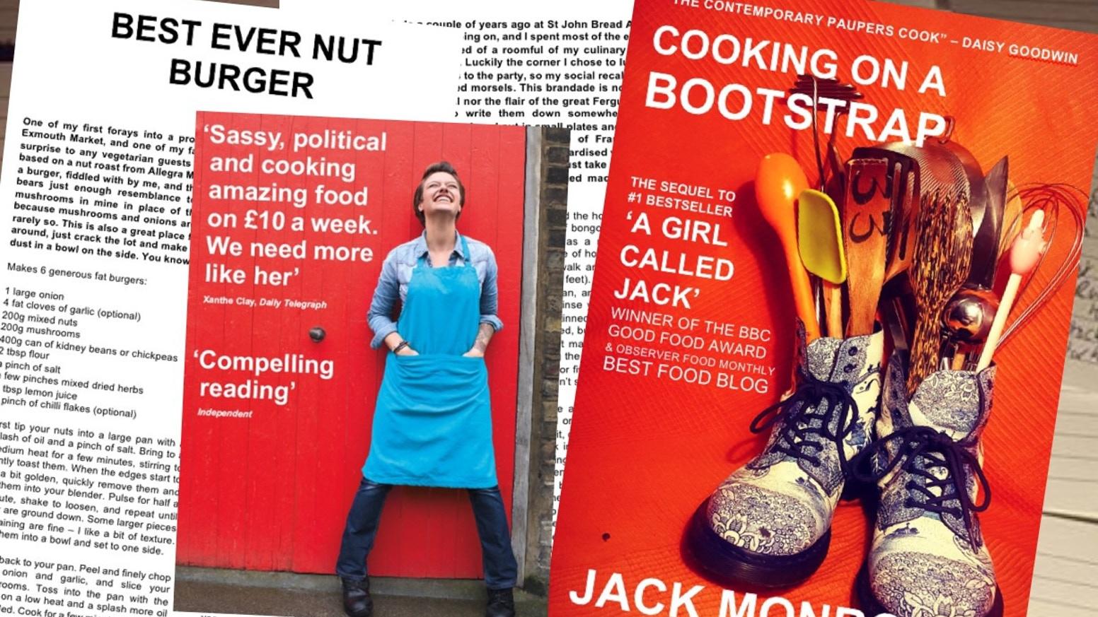 The 100 budget recipe sequel to A Girl Called Jack; pre-order yours on Kickstarter to make this happen!