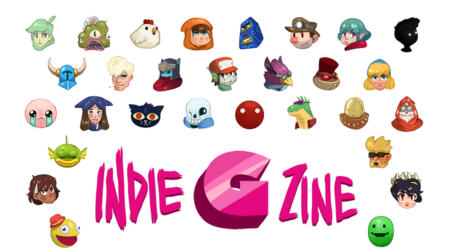 52 talented artists portray 52 awesome indie games in this artzine! Let's celebrate indie games and cool illustration!