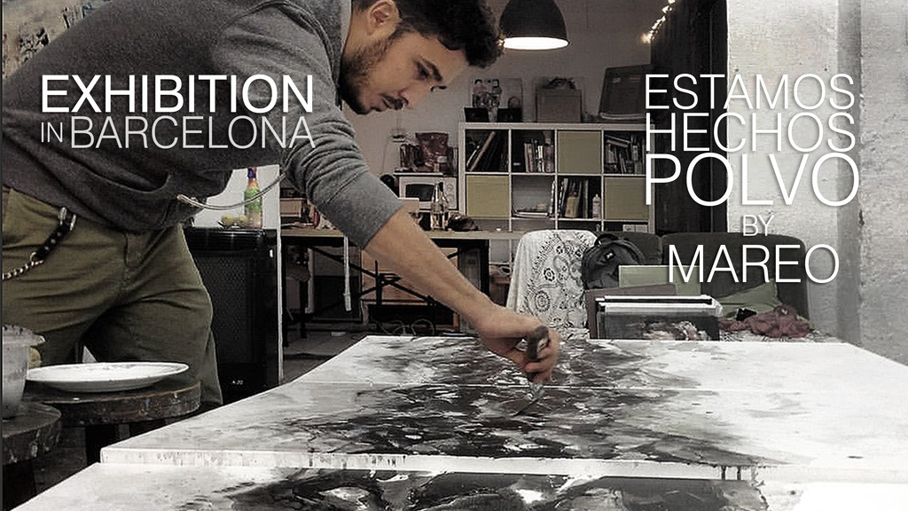 """Exhibition in Barcelona. """"Estamos hechos polvo"""" by Mareo project video thumbnail"""