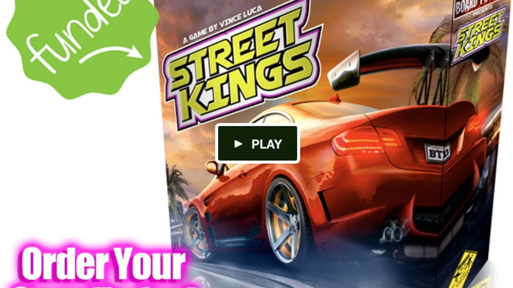 Street Kings Boardgame Project-Video-Thumbnail