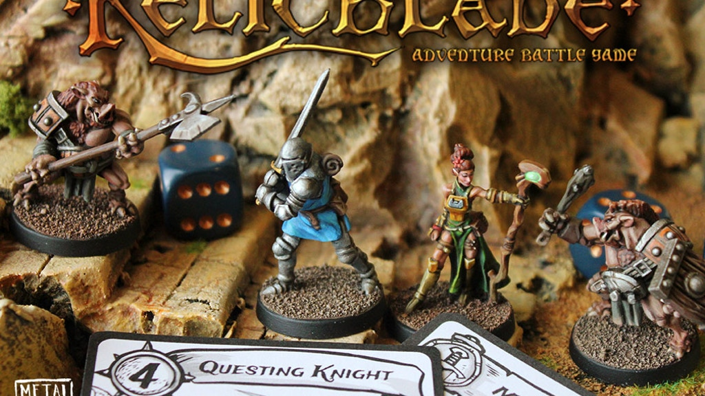 Relicblade Adventure Battle Miniatures Game by Sean Sutter