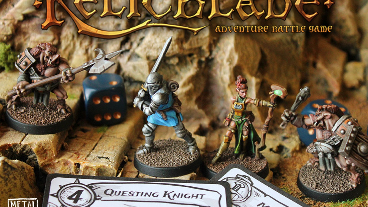 Players command a party of brave heroes or brutal monsters as they battle to claim magical relics of the ancient world. Relic Blade