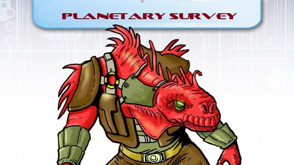 Alterkine: Planetary Survey RPG Pathfinder project video thumbnail