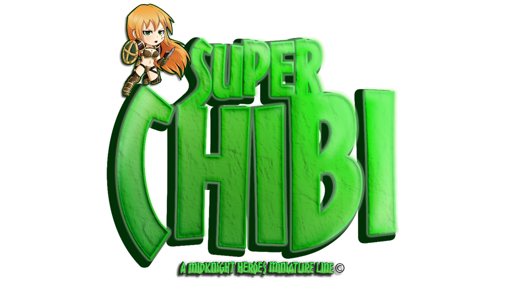 "MidKnight Heroes ""Super Chibi"" Miniature Line project video thumbnail"