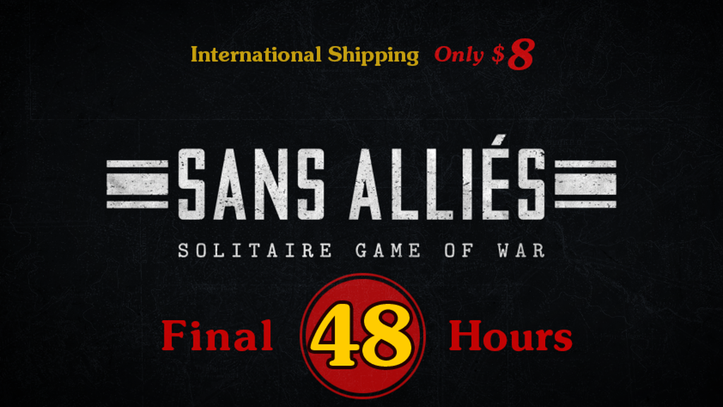 Sans Allies - Solitaire Game of War project video thumbnail