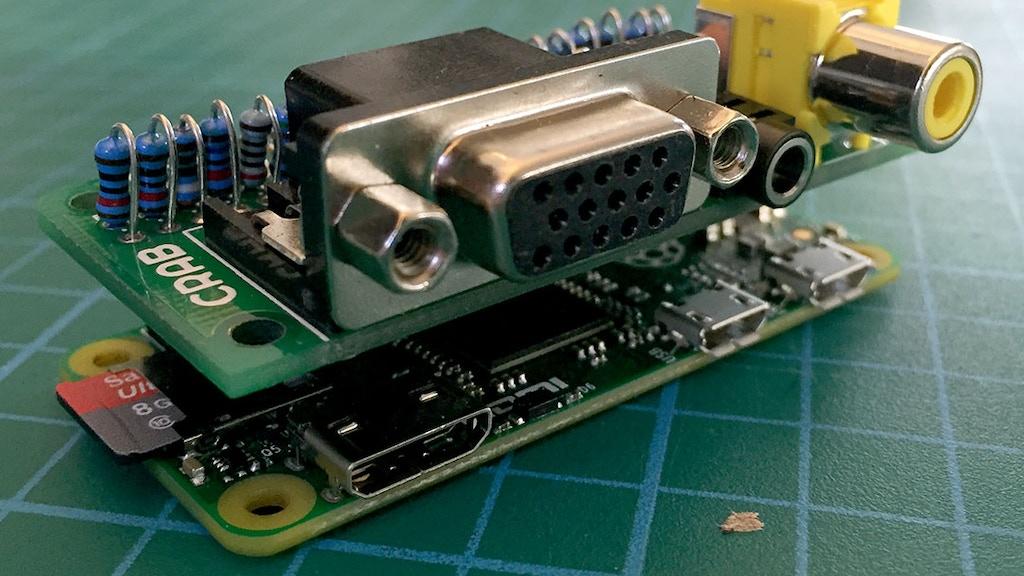 Analog Expander Cap - for Raspberry Pi Zero project video thumbnail