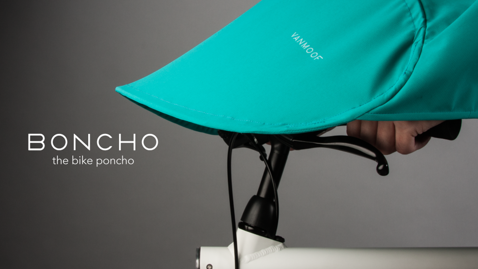 BONCHO, the bike poncho by VANMOOF — Kickstarter