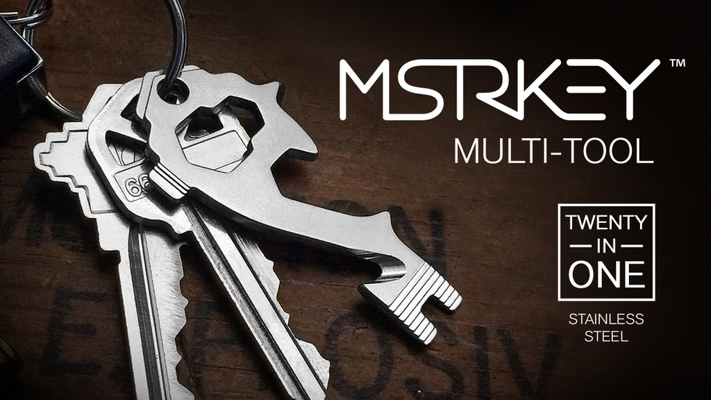 The MSTR KEY (Master Key) 20-in-1 Multi-Tool Keytool project video thumbnail