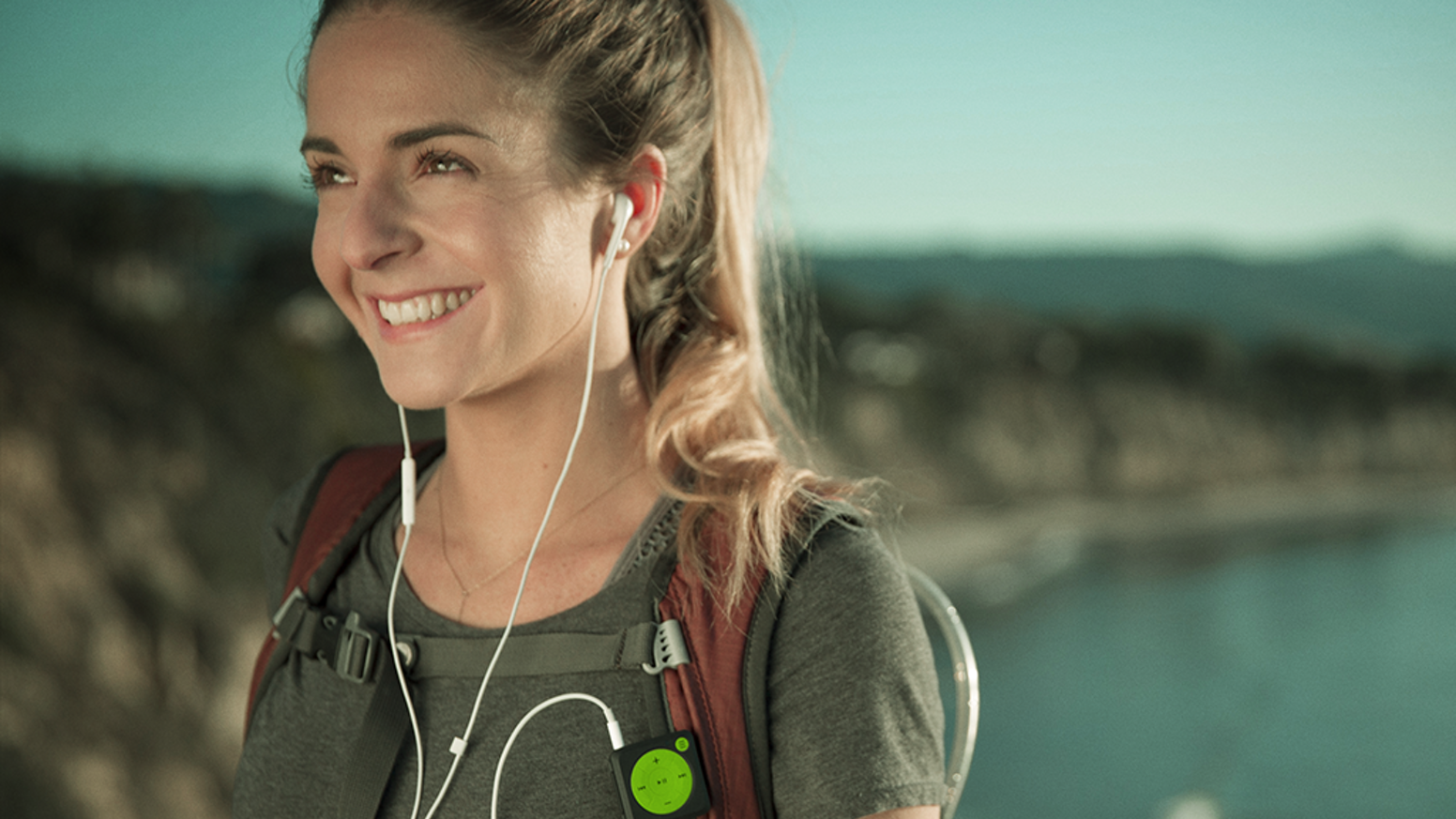 Mighty is the first device to play your Spotify music on-the-go without a phone. Finally.