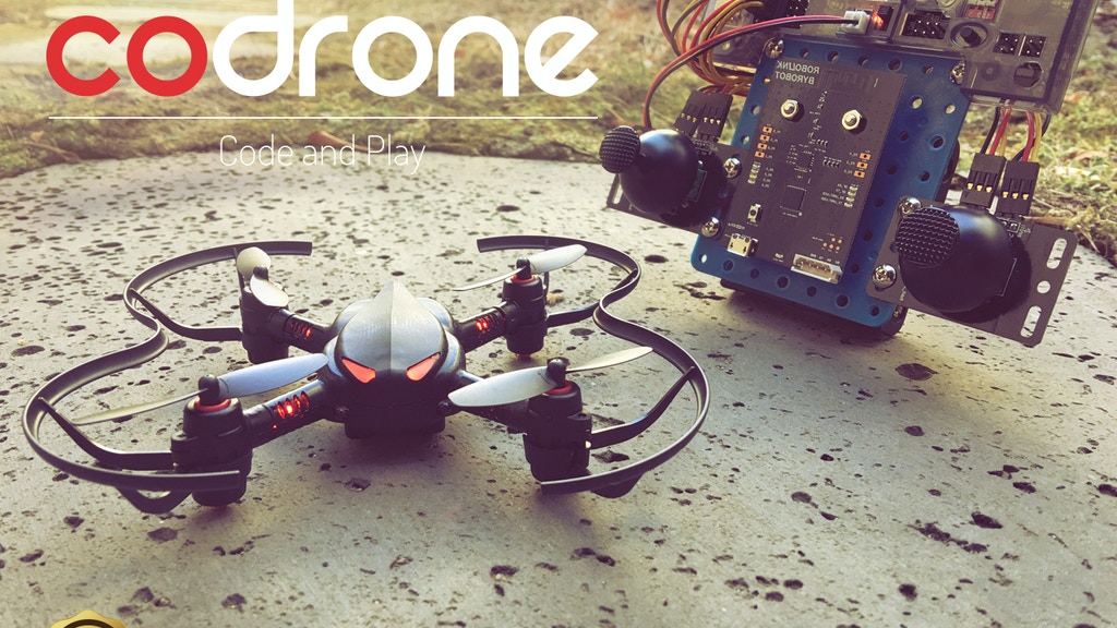 Learn to Code, Play with Drone: CoDrone project video thumbnail