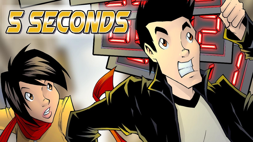 5 Seconds - Action, Excitement, Romance and Time Bending project video thumbnail