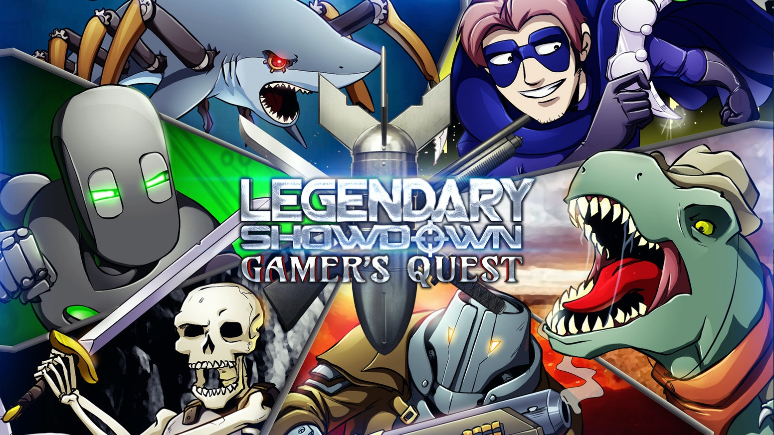 Gamer's Quest features comically epic battles with your favorite avatars, bounty hunters, and skeleton warriors from Ctrl+Alt+Del