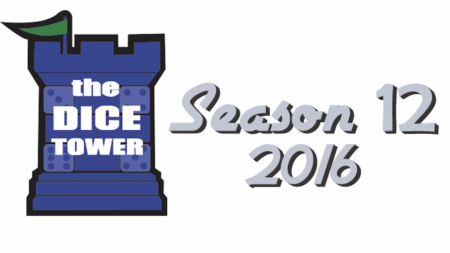 The Dice Tower 2016 Season 12 By Tom Vasel Kickstarter