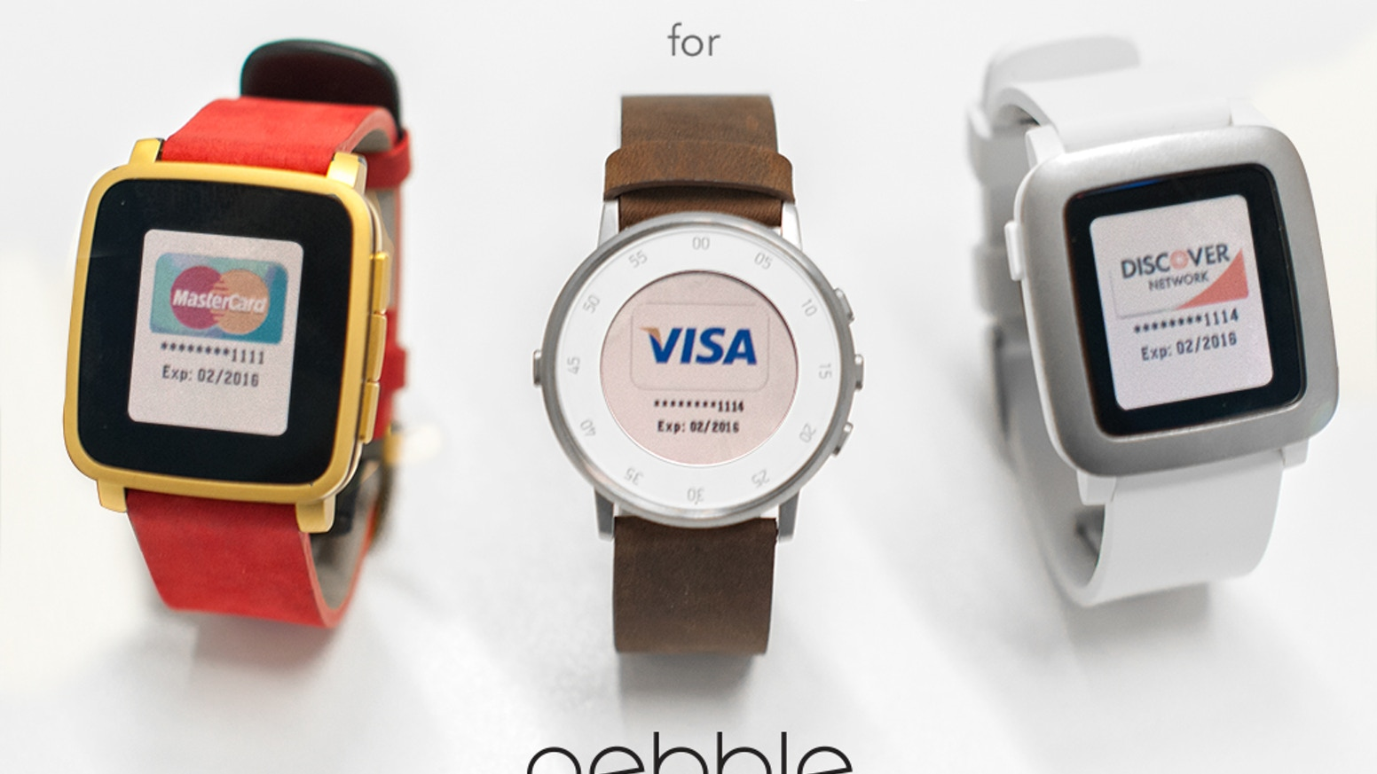 The coolest, easiest way to pay at millions of retailers using your Pebble smartwatch. Leave the phone behind. Just tap and go!