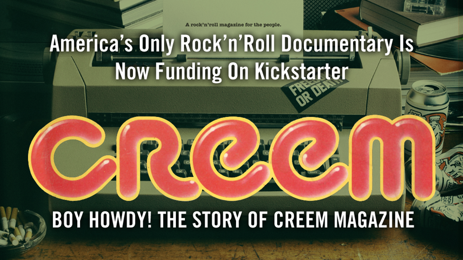 Unfiltered and unapologetic, CREEM remains America's only true rock'n'roll magazine—long after publishing its final issue.