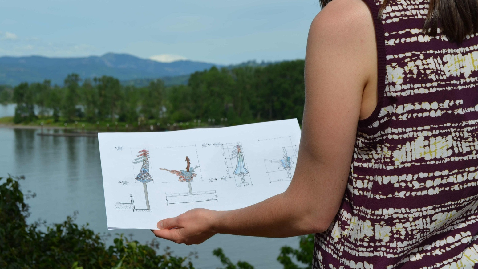 A sculpture project that will mark the southern entrance to St. Helens, Oregon by creating a unique cultural landmark for the community
