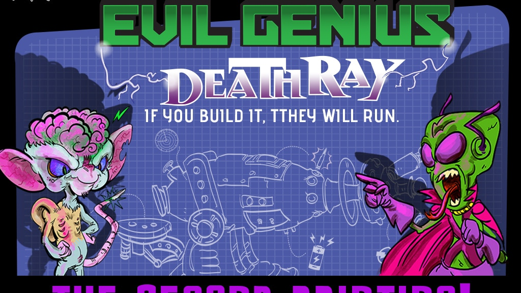 Evil Genius: Deathray The Second Printing project video thumbnail