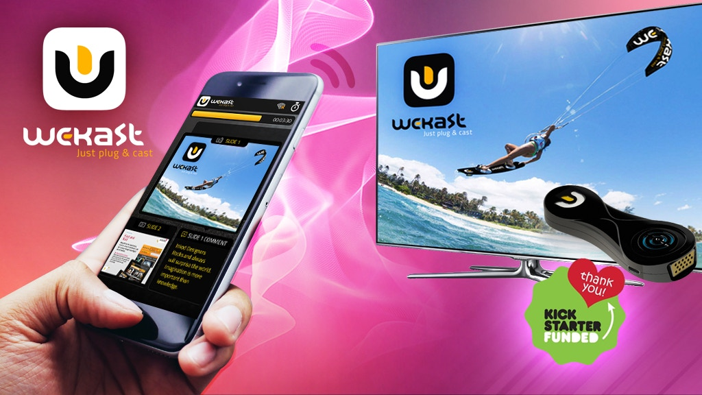 WeKast - Plug & Cast Solution Makes Presentations Easier! project video thumbnail