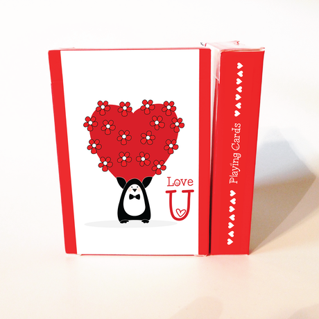 Love u playing cards by natalia silva kickstarter love u is the perfect gift a super sweet and fun deck of m4hsunfo