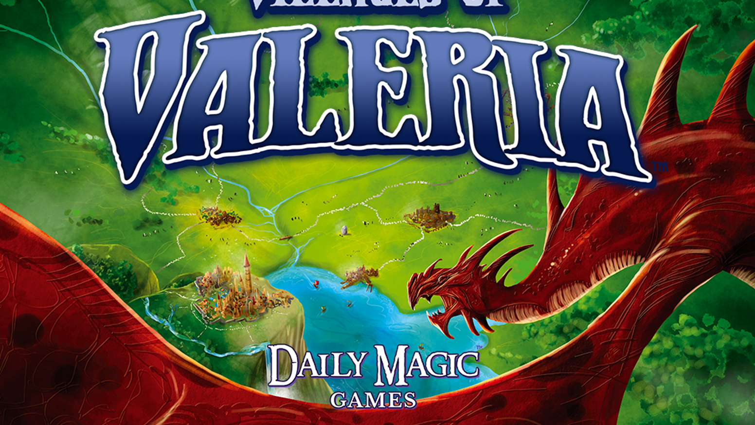 Villages Of Valeria By Daily Magic Games —Kickstarter
