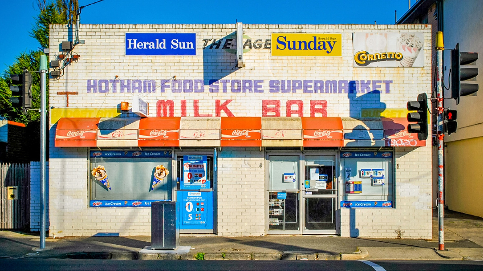 A 400 page coffee table book documenting Australia's fading Corner Stores. Now available to buy at www.milkbarsbook.com