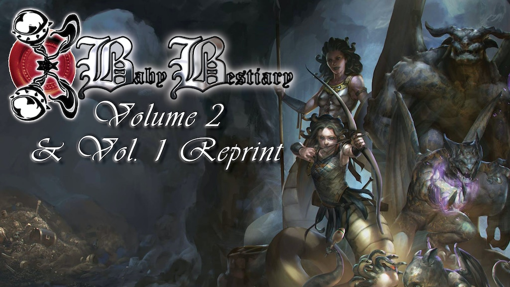 Baby Bestiary Volume 2 & Vol. 1 Reprint project video thumbnail