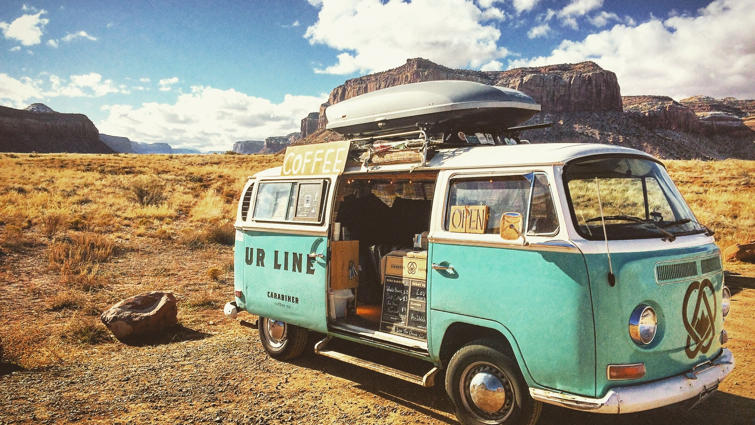 After two years of roaming the west Carabiner Coffee and Ol Blue need your help finding a place to set up shop and call it home!