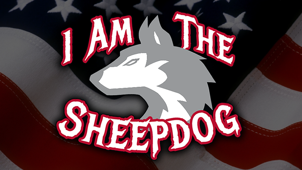 Project image for Shirts for Sheepdogs, t-shirts promoting the American Spirit