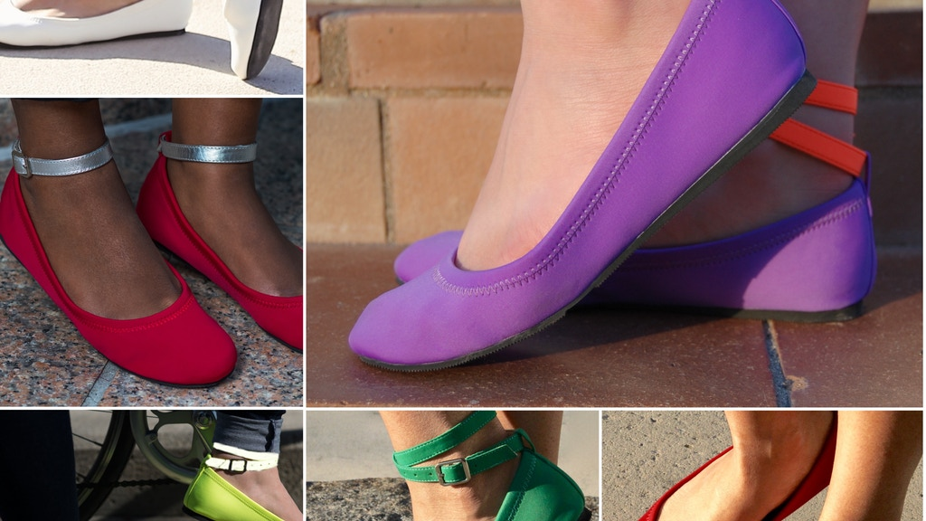 FlipSlips Rainbow Collection | The Worlds Best Travel Shoes project video thumbnail