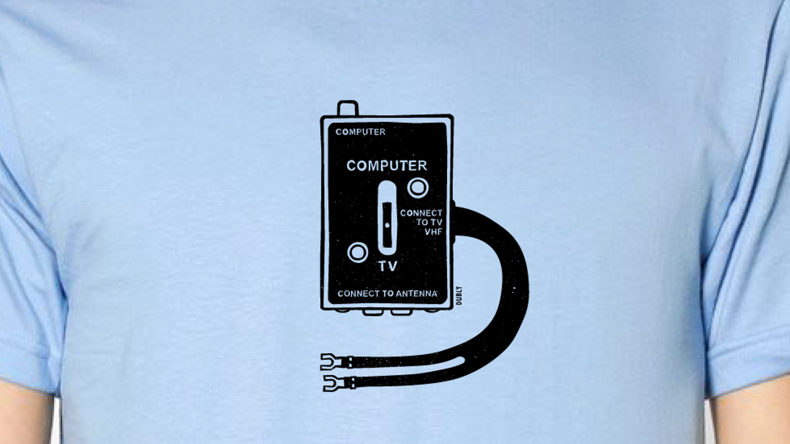 Tvcomputer Rf Switch T Shirt By Andrew Bergmann Kickstarter