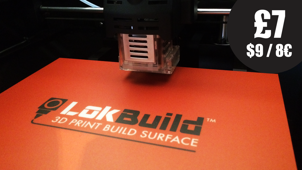 LokBuild : 3D Print Build Surface project video thumbnail