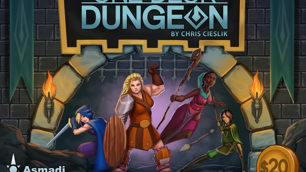 One Deck Dungeon project video thumbnail