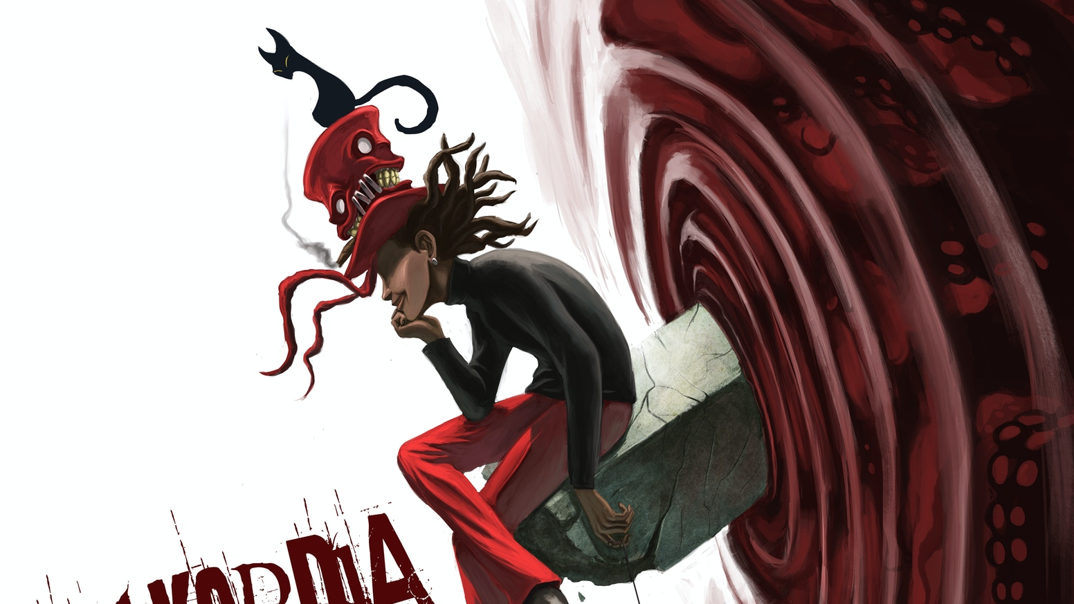 Diskordia is an ongoing surreal fantasy webcomic. The Kickstarter for book 2 is live! You can also get book 1. Link below.