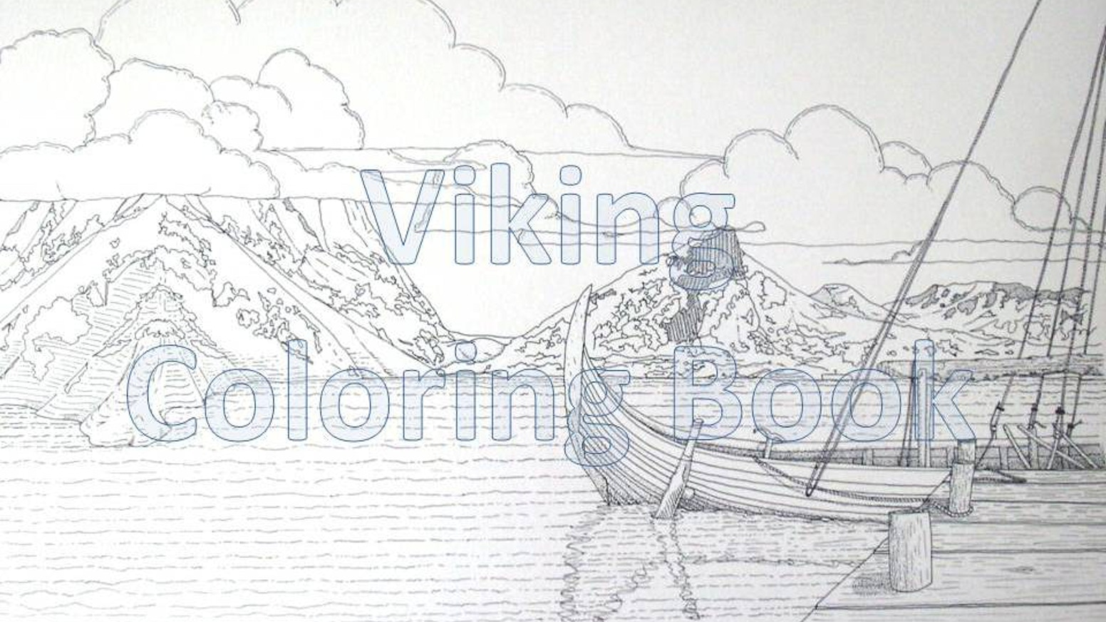 The Viking Coloring Book by Dr Dayanna Knight — Kickstarter
