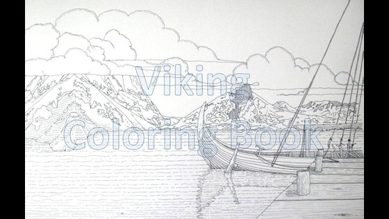 Track The Viking Coloring Book S Kickstarter Campaign On