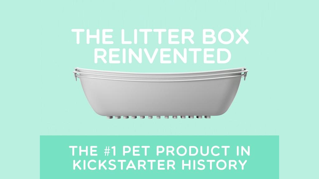luuup litter box the best cat litter box ever made project video thumbnail cat litter box