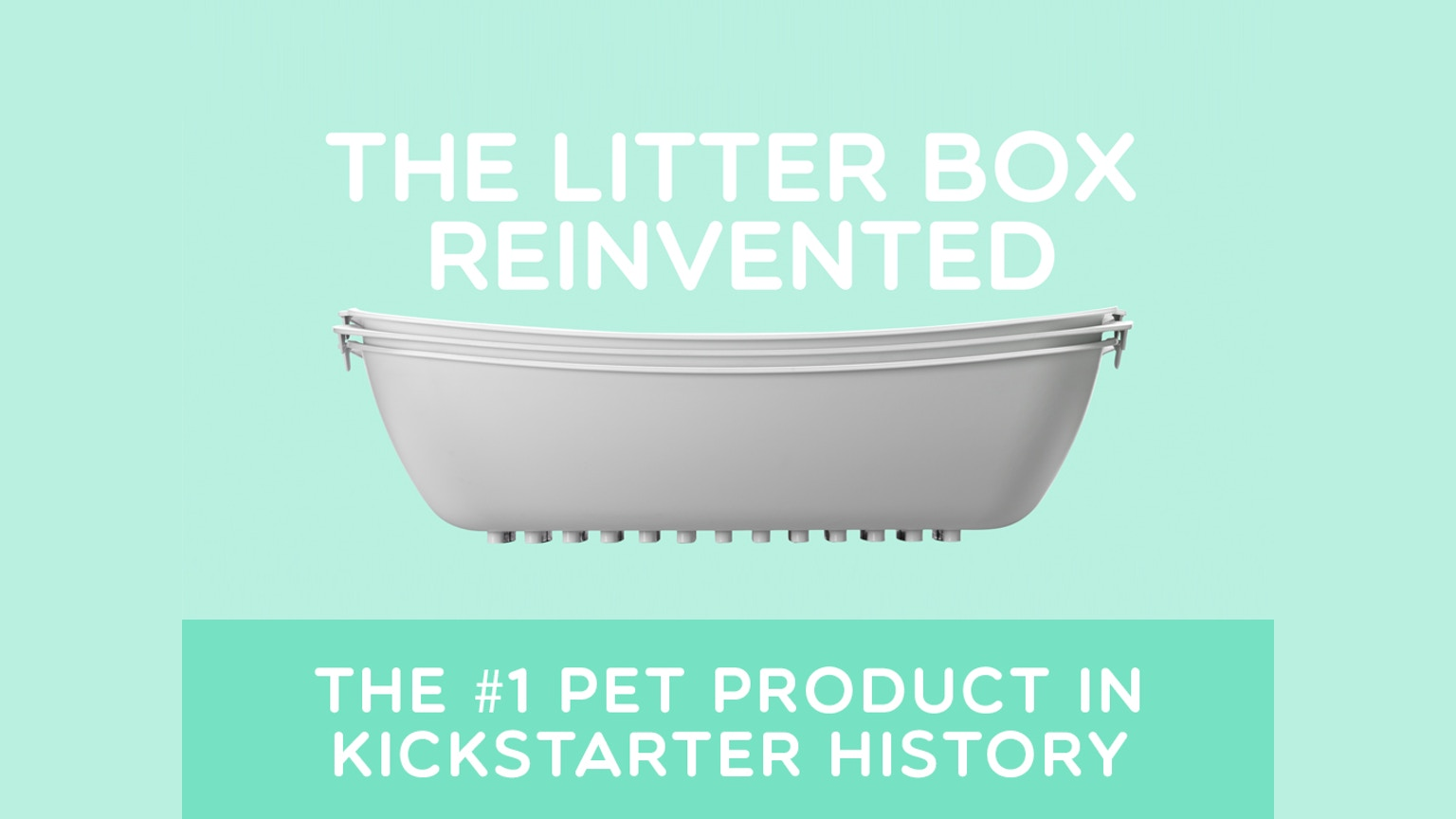 Luuup Litter Box The Best Cat Litter Box Ever Made By