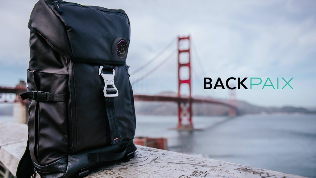 BACKPAIX: stylish, versatile, the best backpack for commuter project video thumbnail