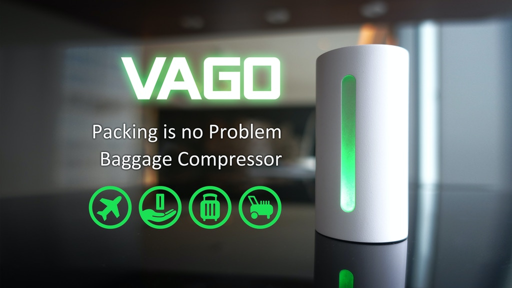 【VAGO】Best travel tool.Give you more than 50% luggage space! の動画サムネイル