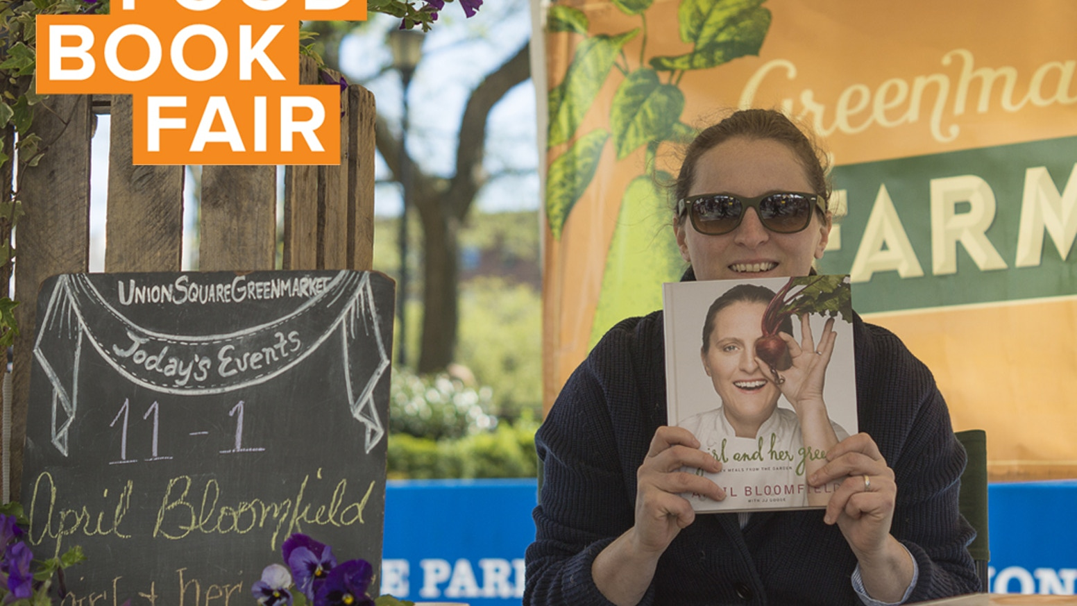 THANK YOU! We did it! We're on the way to writing the next chapter of Food Book Fair, and couldn't have done it without your support.Save the date for May 1st - 2nd at the Wythe Hotel. Visit www.FoodBookFair.com for more info. See you at the fair!