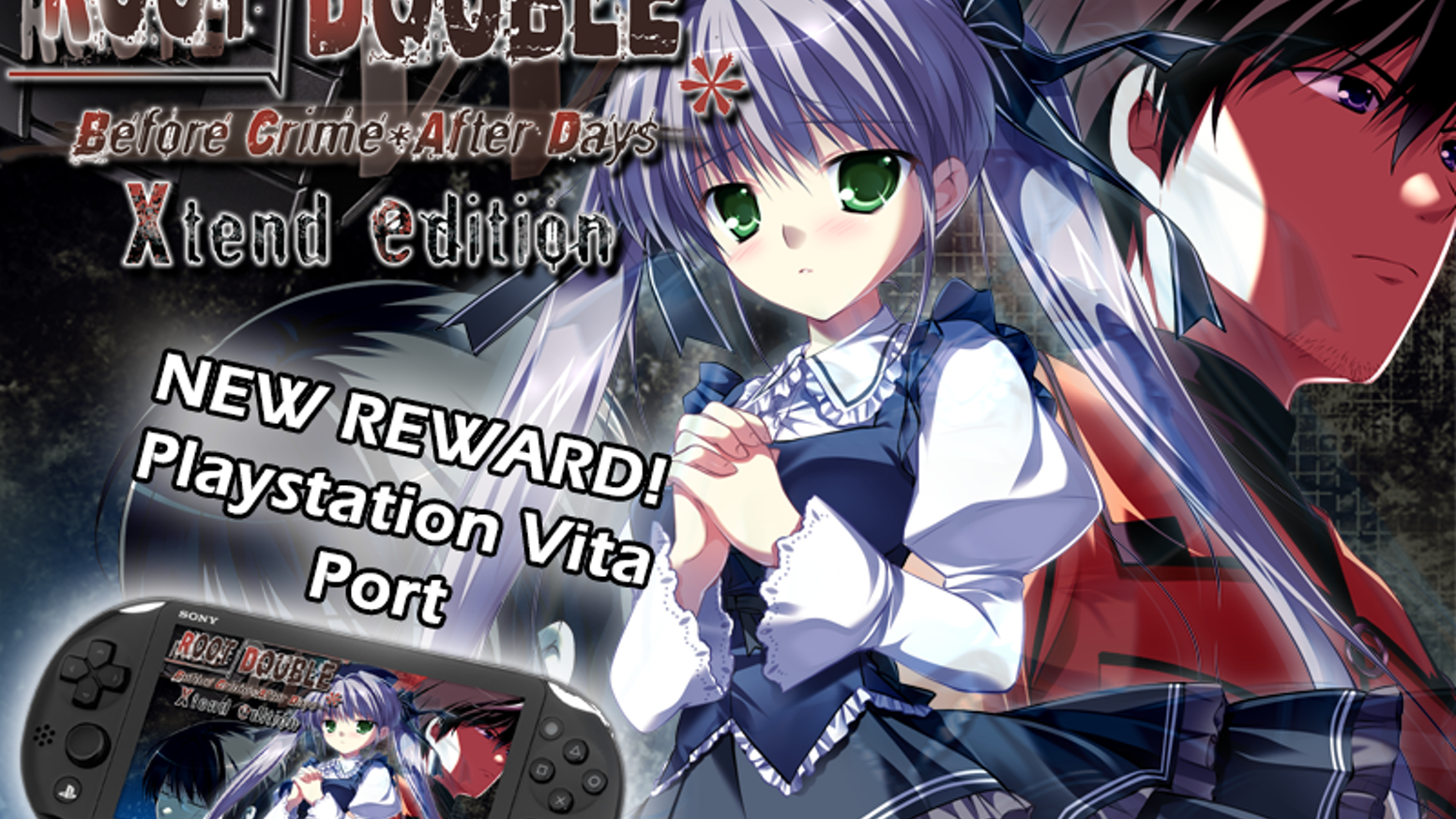From the makers of Ever17, one of the highly acclaimed Visual Novels, comes a title called Root Double which is releasing on Steam!