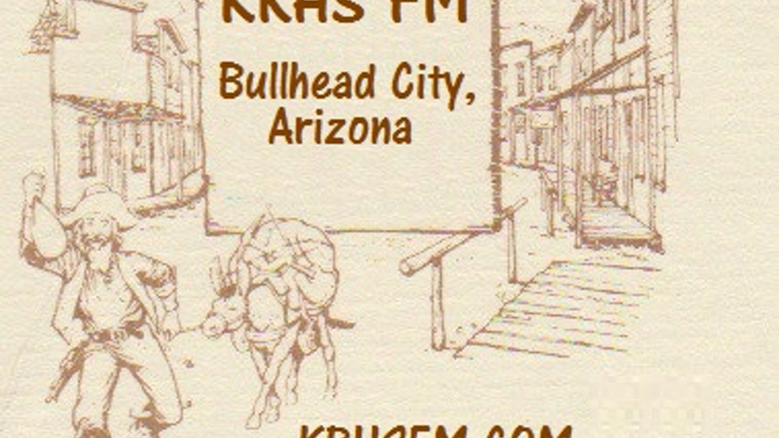 "KRHS FM Bullhead City, Arizona, ""KRHSFM.COM""  a real radio station that existed long ago.... Listener funded for (2016)!"