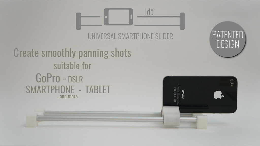 IDŌ - UNIVERSAL SMARTPHONE SLIDER project video thumbnail